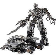 Преобразование Мега Galvatron Танк модель BMB LS06 LS-06 Черная Мамба MP36 фильм больших размеров: 34 см Фигурки из сплава металла роботы игрушки подарки
