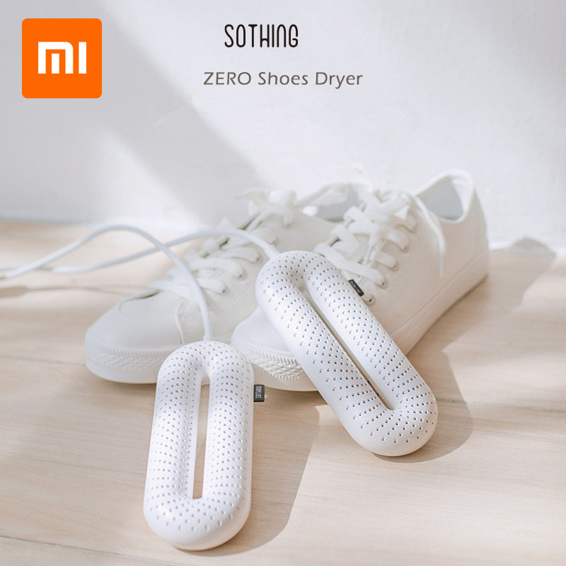 XIAOMI Mijia Light Shoe Dryer Foot Protector Boot Odor Deodorant Dehumidify Device Portable Household Shoes Drier Heater|Shoe Racks & Organizers| |  - title=