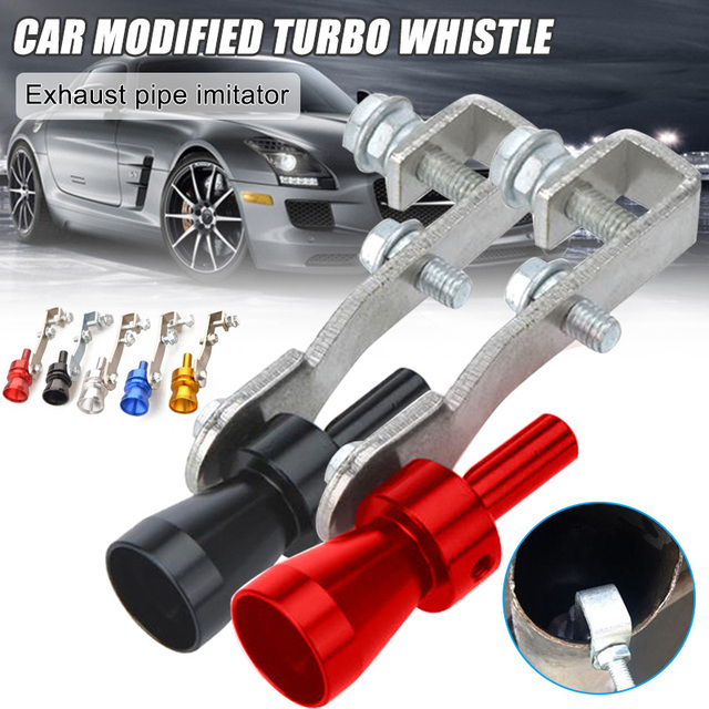 Hot Multi-Purpose Car Turbo Whistles Exhaust Pipe Sound Maker Car Auto Exhaust Pipe Loud Whistles X66 1