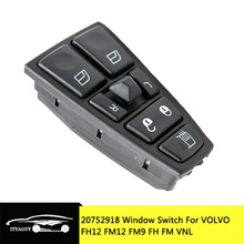 Electric Window Switch For VOLVO FH12 FM12 FM9 FH FM VNL 20752918 20953592 20455317 20452017 21354601 21277587 20568857 21543897