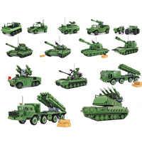 Qwz tanque do exército legoes blocos de construção tijolos armas militares brinquedos para crianças presente natal