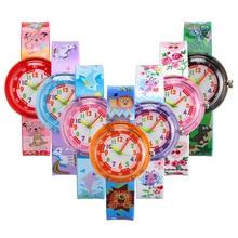 2019 Cartoon Kids Wrist Watches Baby Clock Quartz Watches Ch