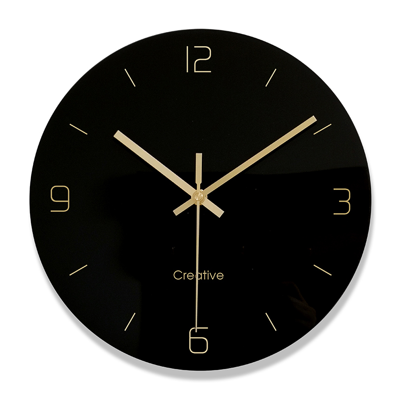 Creative Luxury Wall Clock Modern Design Silent Quartz Digital Wall Clock  Vintage Nordic Zegar