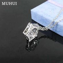Бесплатная доставка Kpop Ожерелье с цветами для мальчиков подвеска в виде звезды со стразами колье s для женщин ювелирные изделия ожерелье B081