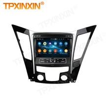 DSP Carplay 2 Din araba Android Stereo alıcı Hyundai SONATA 8 için I40 I45 I50 YF 2011 2012 2013 2014 2015 radyo ses kafa ünitesi