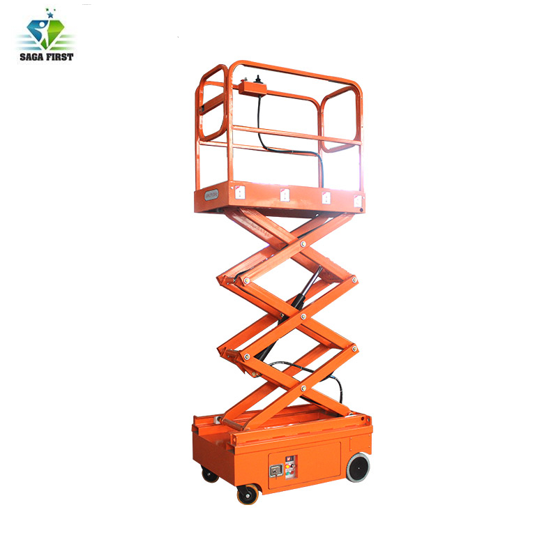 Small Mini Electric Scissor Lift With CE Certification