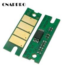 Chip de tóner SP150 SP150he para Ricoh SP150su SP150w SP150suw SP 150 150SU 150w 150SUw 150he, reinicio de recarga de cartucho de impresora, 3 uds.