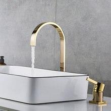 Смеситель для раковины ванная комната Супер длинная труба два