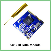 433 МГц RF LoRa модуль SX1278 PM1280 дальний приемник связи и передатчик SPI LORA IOT+ 433 МГц антенна
