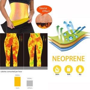 Image 3 - NINGMI Sport Pant mujer neopreno Sauna Body Shaper entrenador de cintura de adelgazamiento bragas con Control de barriga Leggings cortos con bolsillo para teléfono