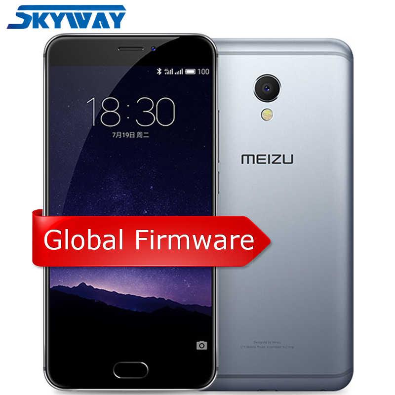 Meizu MX6 MX 6 4G LTE 3GB 32GB téléphone portable MTK Helio X20 Deca Core 5.5 pouces FHD écran IMX386 12MP caméra téléphone portable