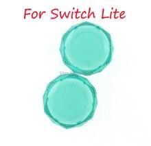 30 conjuntos de cristal polegar grip cap para interruptor joycon silicone antiderrapante cristal miniaturas grip cap para nintendo switch lite alegria con
