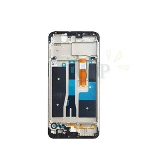 """Image 4 - עבור oppo A5 LCD תצוגת מסך מגע digitizer עצרת עם מסגרת עבור oppo AX5 מסך החלפת חלקי תיקון 6.2"""""""