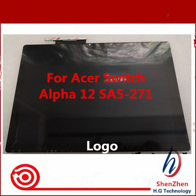 New Original lcd display assembly for ACER SA5-271 Switch Alpha 12 Touch display N16P3
