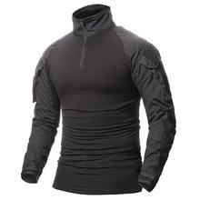 T-Shirt Refire-Gear Military Hunting Tactical Men Uniform Long-Sleeve Outdoor Hiking