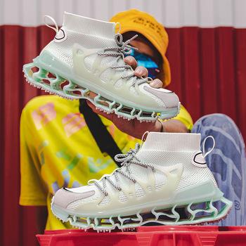 Sapatillas masculino klasyczne buty deportiva mężczyźni mężczyzna czerwony sneaker zapatillas sportive casual meskie dla deporte mens air sepatu tanie i dobre opinie Kalorzze Mesh (air mesh) Przypadkowi buty RUBBER Lace-up Pasuje prawda na wymiar weź swój normalny rozmiar Podstawowe