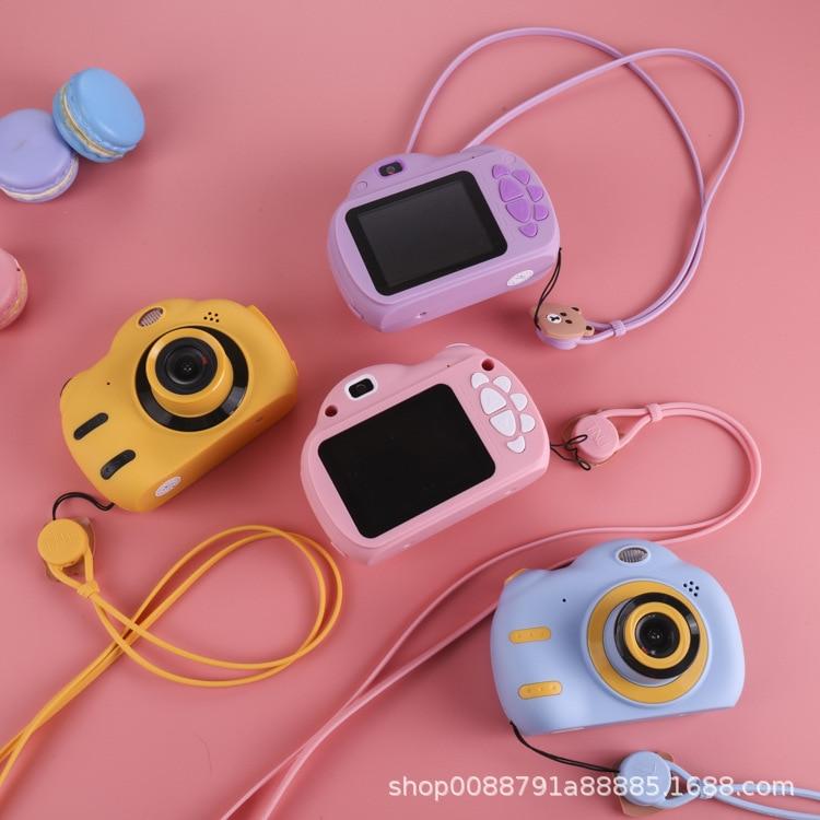 Mini Children Photo Camera High-definition Double Camera Children Camera 2.4 Inch Big Screen Hot Selling