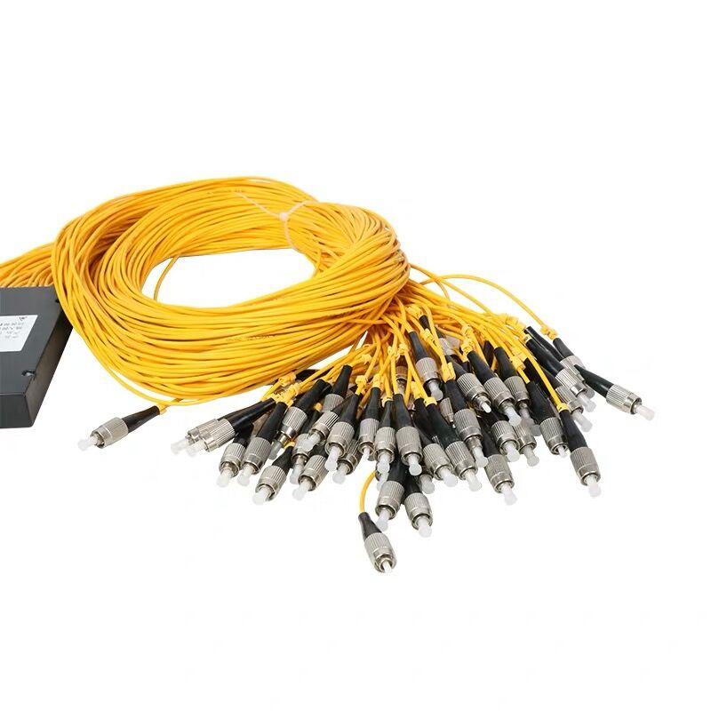 Free Shipping1x64 plc splitter FBT Optical Couple FC / UPC 1x64 plc splitterFBT Optical Fiber Optic Splitter Single modeFC /UPC