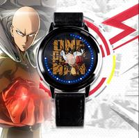 ONE PUNCH MAN Saitama LED Watch Touch Screen Waterproof Cos Anime Gift