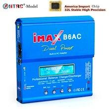 HTRC iMAX mini B6 AC RC зарядное устройство Lipo батарея баланс зарядное устройство 80 Вт 6A Nimh Nicd Батарея баланс зарядное устройство RC Dis зарядное устройство