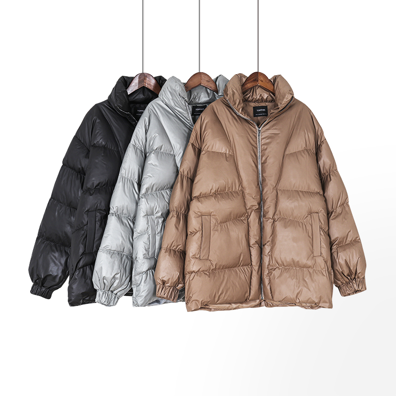 Toppies Winter Jackets Coats Oversize Parkas Woman Puffer Jacket Female Thicker Warm Padded Clothes Loose Outwear