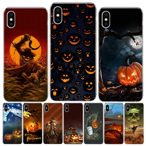 Halloween Scary Pumpkin Phone Case For iphone SE 2020 11Pro XS MAX 8 7 6 6S Plus X 5 5S SE XR Cover Shell Coque