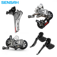 SENSAH EMPIRE Road bike 2*11 Speed Bicycle Shifter Lever Rear Derailleur Groupset Cassette flywheel KMC Chain ST 2400 ST 3503