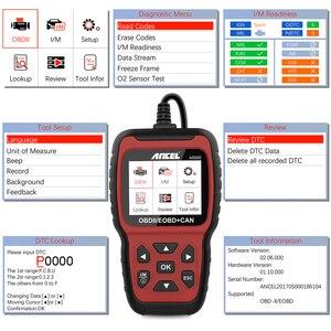 Image 3 - Ancel AS500 OBD2 OBD 2 Scanner Engine Code Reader OBD Car Diagnostics Tool Multilingual Free Update ODB2 Automotive Scanner