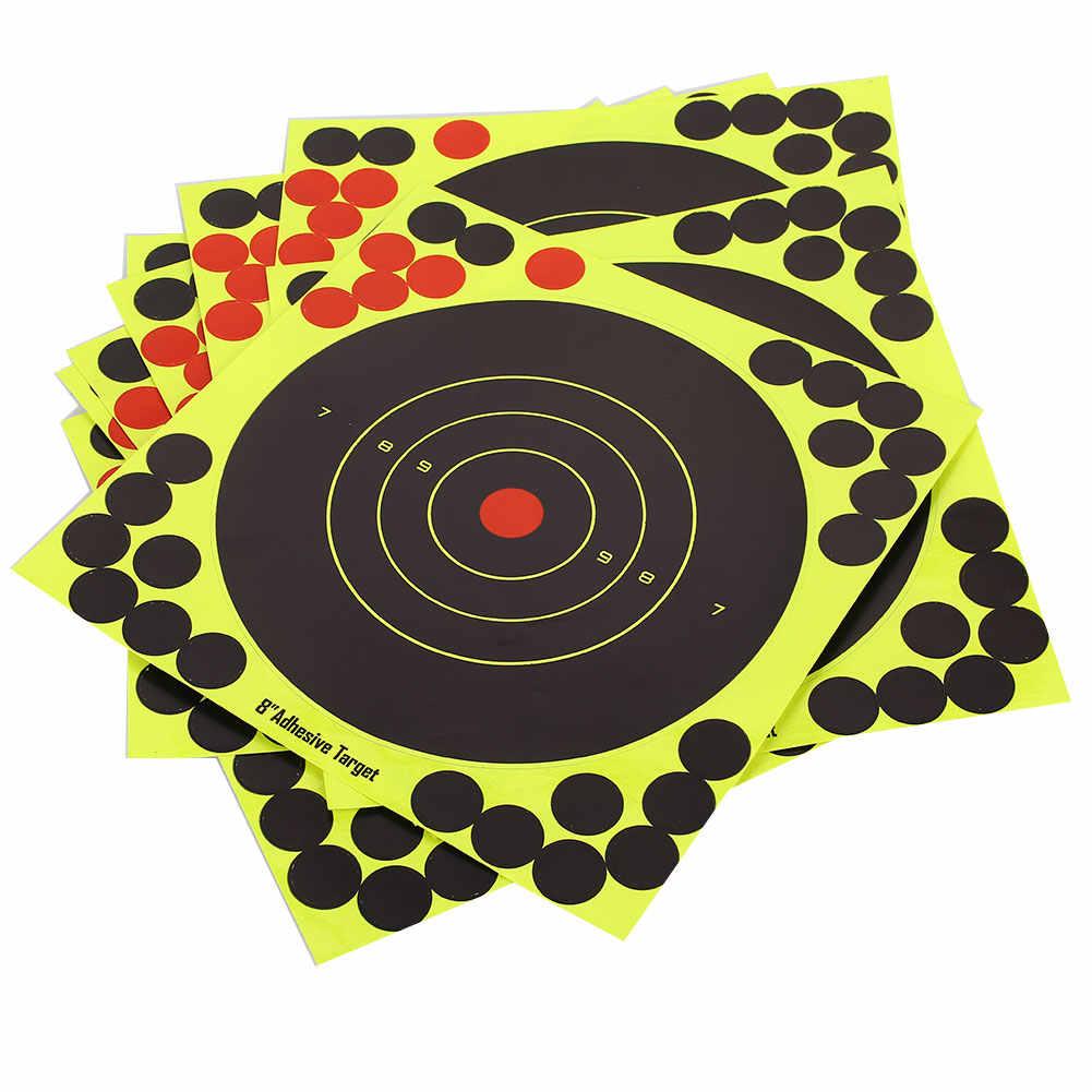 الرماية الأصفر بندقية بندقية قوس الصيد ورقة التدريب الهدف ملصقات ورقة الهدف الاقتصادي هنتر الرماية الممارسة