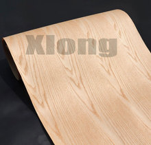 Length: 2.5Meters  Thickness:0.3mm  Width: 55cm Technological Red Oak Patterns Wood Veneer Kraft Paper Composite Veneer