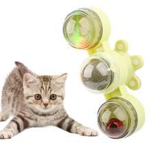 Популярная ветряная мельница игрушка для кошек поворотный стол
