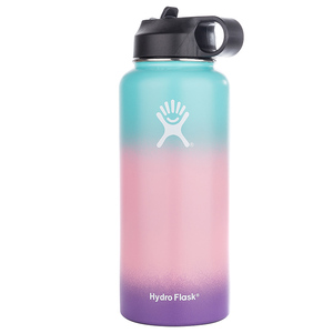Image 5 - 12/18/32/40oz Stainless Steel Water Bottle Hydro Flask Water Bottle Vacuum Insulated Wide Mouth Travel Portable Thermal Bottle