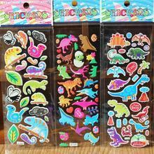 10PCs DIY Cute Lovely 3D Sponge Bubble Stickers Kawaii Cartoon Sticker Soft Animal Toys For Kids Creative Gift School Supplies