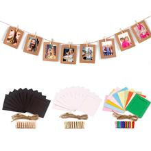 PATIMATE Picture Photo Frame Banner Wedding Decoration Birthday Party Decoration Wedding birthday banner Wedding Party Supplies