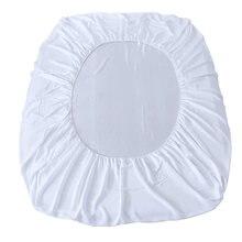 Водонепроницаемые простыни для кроватки махровый хлопковый водонепроницаемый