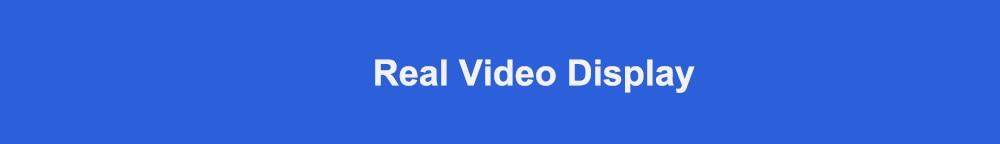 Real Video Display标题