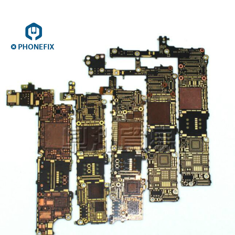 PHONEFIX Bare PCB Circuit Logic Motherboard For Iphone 5 5S 5C 6 6P 6S 6SP SE 7 7P 8 8P X Circuit Board
