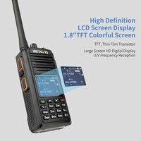 uhf dual band RETEVIS RT52 DMR רדיו דיגיטלי מכשיר הקשר Dual PTT Dual Band DMR VHF UHF GPS שתי דרך רדיו המוצפן Ham חובב רדיו + כבל (3)