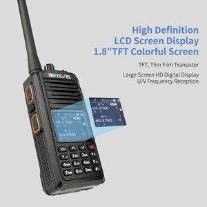Image 3 - RETEVIS RT52 DMR Radio Digital Walkie Talkie Dual PTT doble banda DMR VHF UHF GPS Radio de dos vías encryted Ham amatner Radio + Cable