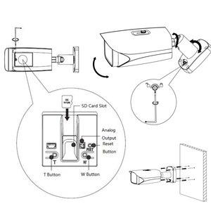 Image 2 - Dahua Original IPC HFW5241E ZE IPC HFW5241E Z12E Pro AI 5X 12X ZOOM POE SD Slot Alarm Aduio I/O H.265 IP67 IK10 50M IR IP Camera