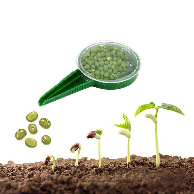 Adjustable Garden Planter Seeder Seed Planter Gardening Supplies Hand-held Flower Plant Seeder Seedling Planting Tool