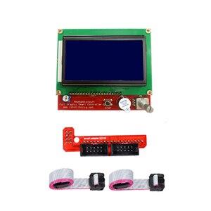 Image 2 - RepRap RAMPS 1.4 ชุด MEGA 2560 R3 + Heatbed MK2B + 12864 LCD Controller + 5pcs A4988 + 6pcs Mechanical SWITCH สำหรับ 3D เครื่องพิมพ์