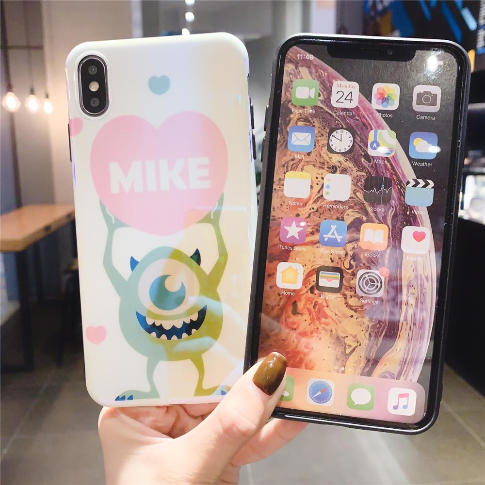 Image 5 - Funny Cartoon Cute Lovely Girly Couple Phone Case For iPhone X 8 7 6 6s plus XS11 Pro Max XR Grip Holder Stand Back Cover Coque-in Fitted Cases from Cellphones & Telecommunications