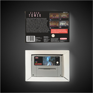 Image 2 - Clock Tower   EUR Version Action Game Card with Retail Box