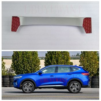 For Great Wall Haval F7 2018 2019 ABS Plastic Unpainted Primer Exterior Rear Spoiler Tail Trunk Boot Wing Decoration Car Styling