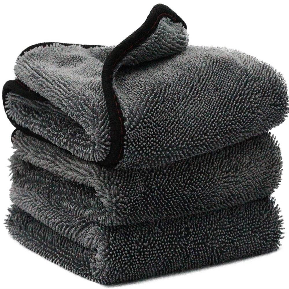 Car Wash Towel Microfiber Car Cleaning Drying Cloth Hemming Car Care Cloth Detailing Car Wash Towel For Toyota BMW Hyundai Kia