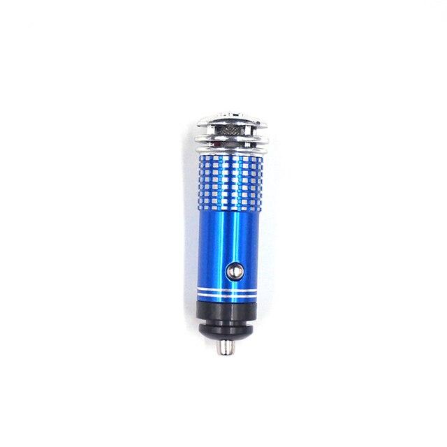Mini Car Air Purifier 12V Mini Auto Car Fresh Air anion Ionic Purifier Oxygen Bar Ozone Ionizer cleaner Vehicle Air Freshener 3