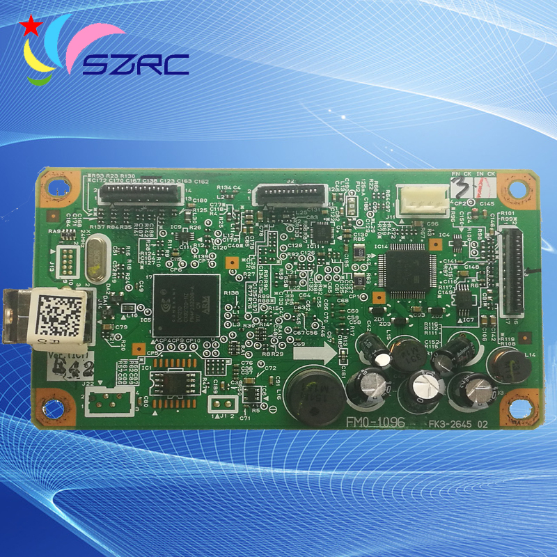 Original Used Formatter Board FM0-1096 FM0-1096-000 For canon MF3010 MF-3010 MF 3010 logic Main Board mother board image