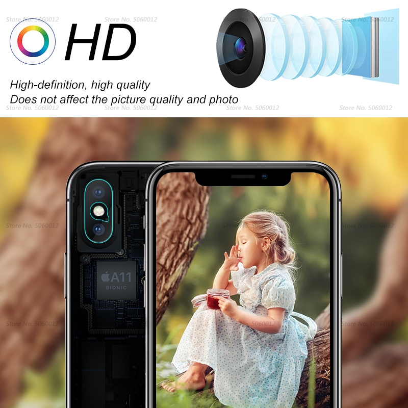 Ultra Thin Back Protective Camera Lens For iPhone XS XSMAX XR X 5