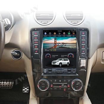 цена на Android Vertical Tesla Car Multimedia Player GPS For Mercedes Benz ML W164 W300 ML350 ML450 ML500 GL X164 G320 GL350 GL450 GL500